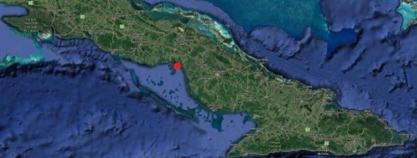 Sismo de 3.8 de magnitud fue perceptible durante la madrugada en Ciego de Ávila y parte de Camagüey