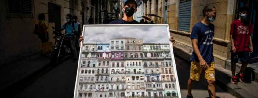 Cuba subasta fotografía en formato NFT