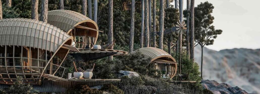 veliz arquitecto envisions mountain-edge cocoon cabin retreat in cuba