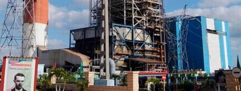Antonio Guiteras Termoeléctrica estará fuera de servicio por reparaciones