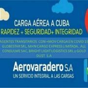 Aerovaradero informa tarifas de su nuevo servicio puerta a puerta