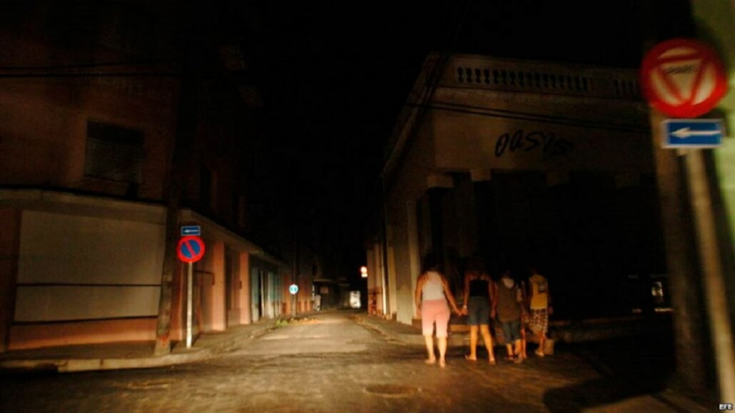 Blackouts in Cuba are mainly due to the age of thermoelectric plants