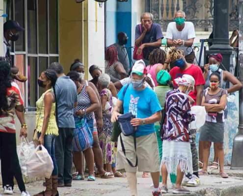 """Delta variant """"makes way in Havana"""""""