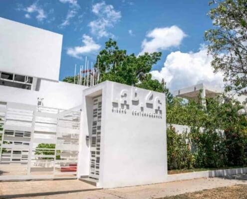 Successive spaces in El Vedado