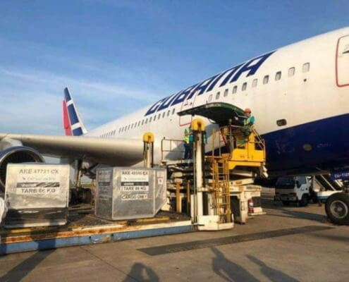 Aerovaradero aclara sobre entrega de paquetes en las provincias cubanas