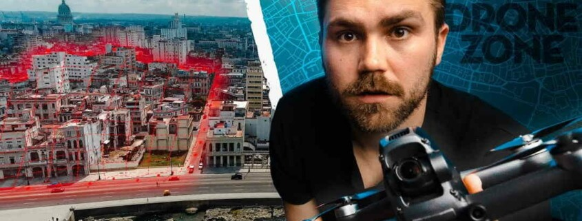 Photographer ends up in jail for flying a drone in Cuba