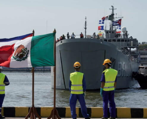 3 Mexican navy ships en route to Cuba to deliver humanitarian aid