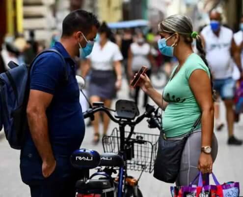 Cuba reporta un nuevo récord de casos diarios de covid-19 con 7.745