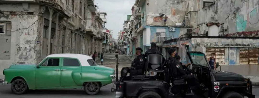 'I'm surprised it took so long': Cubans find anger in their souls