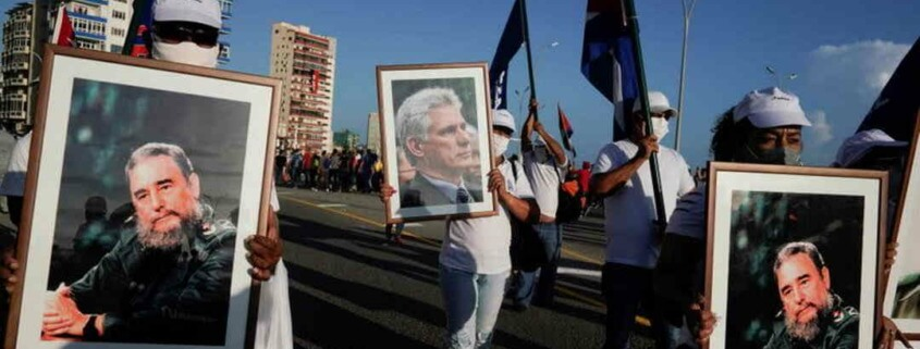 Cuban government holds mass rally in Havana after protests