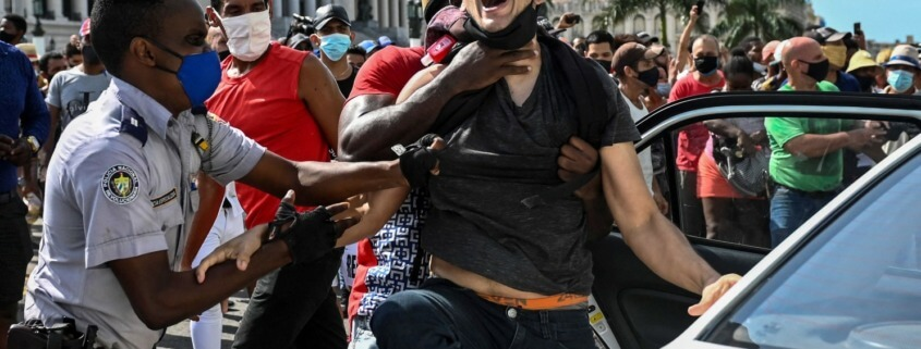Politics Biden says U.S. stands with Cuban protesters