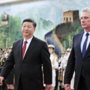 Xi Jinping, reafirmó hoy a Miguel Díaz-Canel, el carácter imperecedero de la amistad entre ambos países