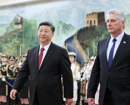Xi Jinping veut «marcher aux côtés de Cuba»