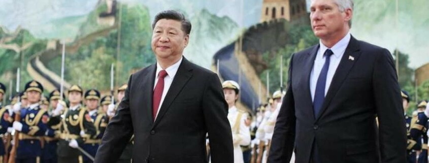 Xi says China willing to work together with Cuba in building socialism