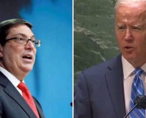 """Díaz-Canel considera """"cínico"""" discurso de Biden en la ONU y denuncia amenaza"""