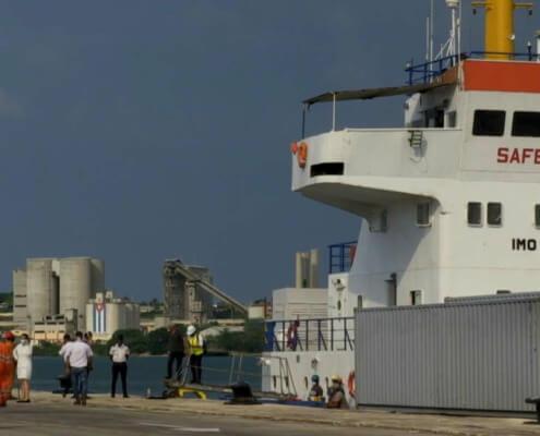 Nicaragua envía 729 toneladas de alimentos a Cuba