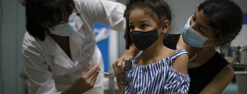 Cuba prepares to vaccinate its children, entire population