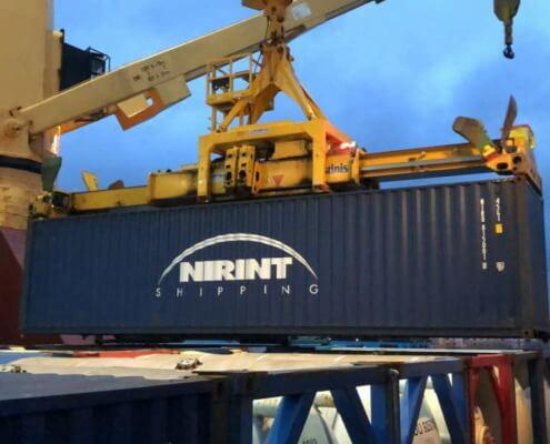 Nirint Shipping company brings medical supply donation to Cuba