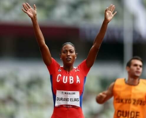 La Cubaine Omara Durand, la paralympienne la plus rapide du monde