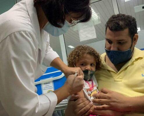 À Cuba, la vaccination des enfants âgés de 2 à 18 ans va débuter