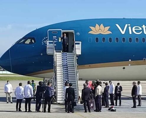 Presidente de Vietnam llega a Cuba de visita oficial