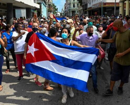 Cuba niega permiso a la oposición para marchar en la Habana