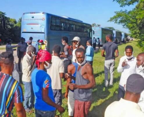 Cuba repatriats Haitian migrants who landed on its shores