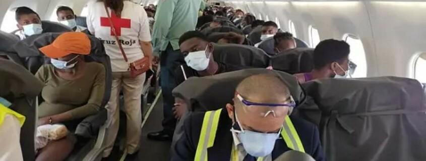 Des migrants Haitiens échoués à Cuba rapatriés Port-au-Prince