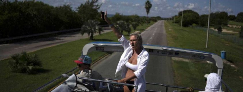 Cuba's famed Varadero beach getting ready for tourists again