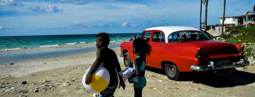 Reapertura en Cuba: Habaneros vuelven a las playas y al malecón